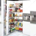 سوپر تاندم لولایی کمدی دایمند استایل عرض 45 ارتفاع 110 سانتیمتر فانتونی مدل E001
