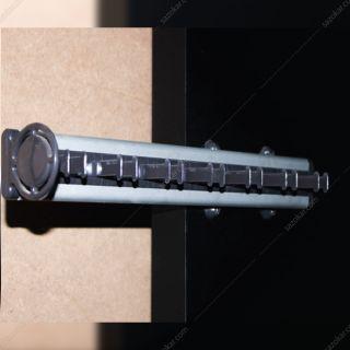 جای کمربند و کراوات دیواری ریلی سری 1 رنگ طوسی فانتونی مدل J152