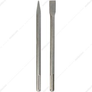 ست قلم نوک تیز و نوک پهن 5 شیار 350 میلیمتری شپخ مدل 7907900001 مناسب برای مدل DH1200MAX