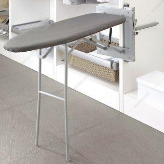 میز اطو ایستاده ریلی با پایه متصل به بدنه فانتونی مدل J406