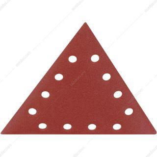 پک 10 عددی کاغذ سنباده مثلثی شپخ قطر 280×280×280میلی متر مش 120 مدل 7903800603 مناسب برای مدل DS930