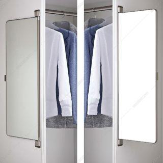 آینه چرخان بدون فریم W30×H89 فانتونی مدل J701