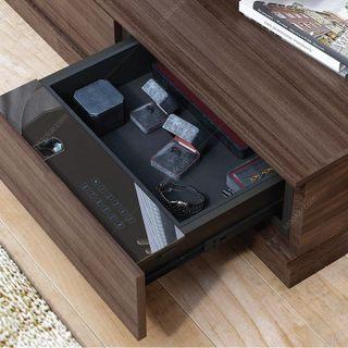 گاوصندوق کشویی داخل کمد و میز با اثر انگشت عرض 58 فانتونی مدل J408