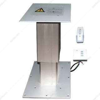 پایه میز کار برقی ارتفاع قابل تنظیم 36 تا 82 سانتی متر دو پایه فانتونی مدل T475