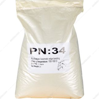 چسب گرانول کیسهای پاراکس مدل PN 34 وزن 25 کیلوگرم