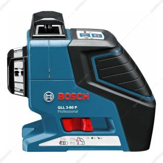 تراز لیزری خطی- 3 خط 360 درجه بوشGLL3-80P+BM1 L-BOXX