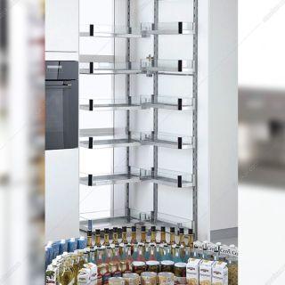 سوپر تاندم لولایی کمدی کریستال عرض 60 حداقل ارتفاع 178 سانتیمتر فانتونی مدل E106