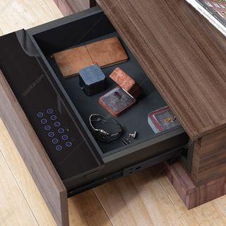 گاوصندوق کشویی داخل کمد و میز عرض 48 فانتونی مدل J417