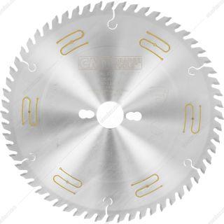 تیغ اره چوب بر 60 دندانه قطر 25 سانتیمتر CMT مدل 285.660.10m
