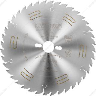 تیغ اره چوب بر 40 دندانه قطر 25 سانتیمتر CMT مدل 285.640.10m